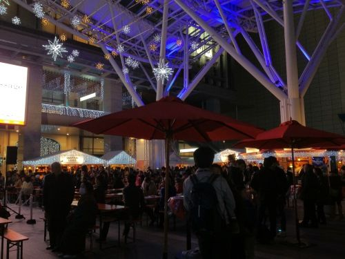 JR博多シティ・クリスマスマーケット2