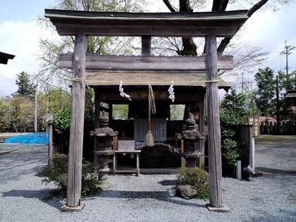 110423阿蘇神社・願かけの石