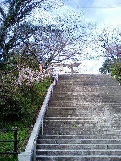 西公園・階段