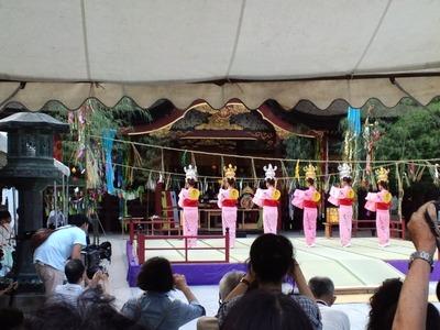 山鹿灯籠踊り