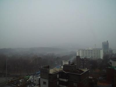 20101220ソウルの朝