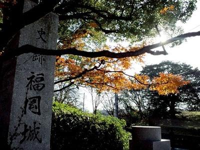 史跡・福岡城址20101205