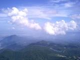 鶴見岳より