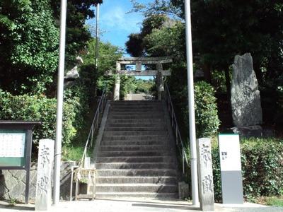 志賀海神社の入り口