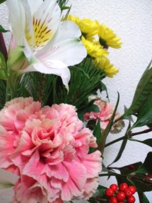 お正月の花3