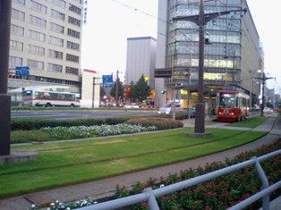 中央駅前電停