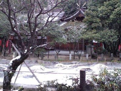 三日恵比寿神社と功徳池