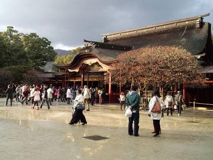 本殿と飛び梅20110211