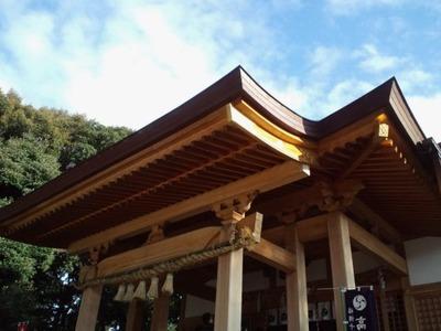 20110102高宮八幡宮・本殿