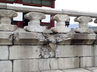 20101219景福宮・傷跡