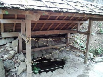 20110220平尾山荘・井戸