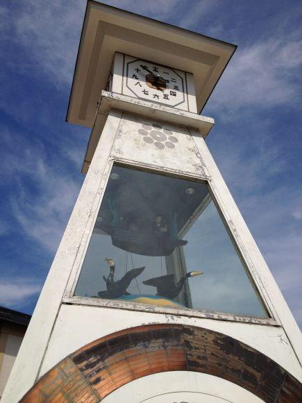 岩国城からくり時計