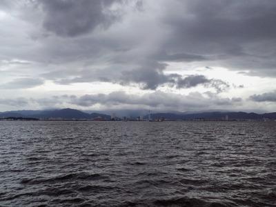 帰りの博多湾