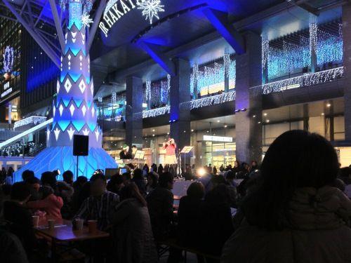 JR博多シティ・クリスマスマーケット演奏