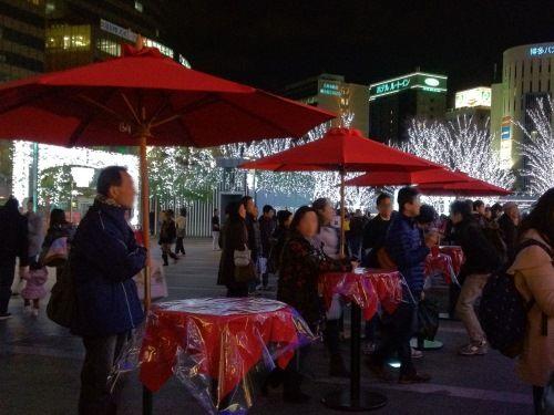 JR博多シティ・クリスマスマーケット3